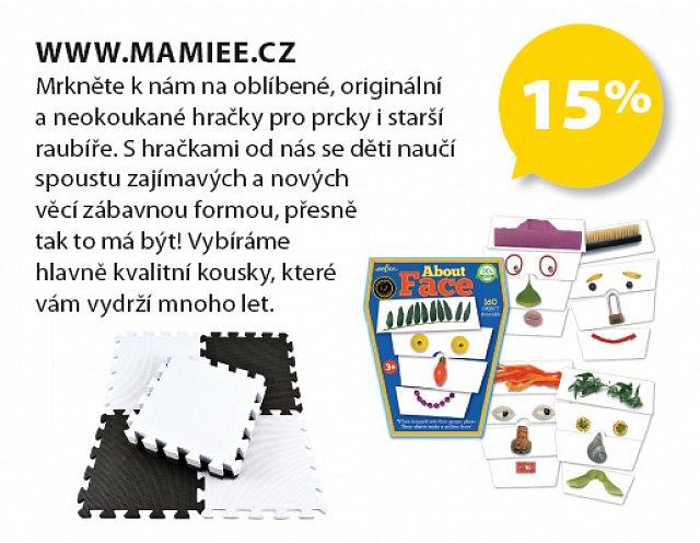 Obrázek kupónu - www.mamiee.cz