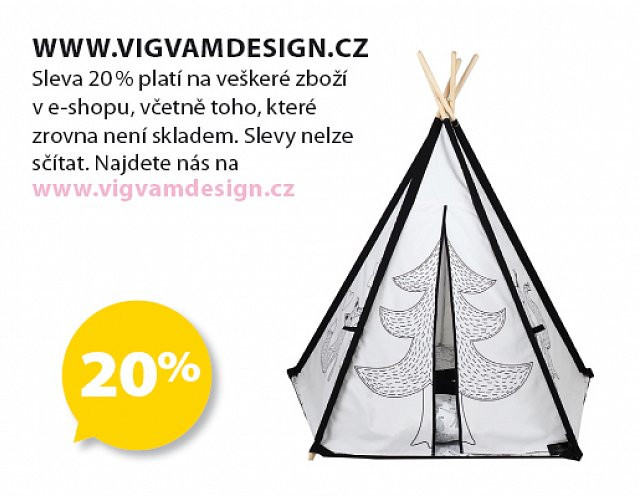 Obrázek kupónu - www.vigvamdesign.cz