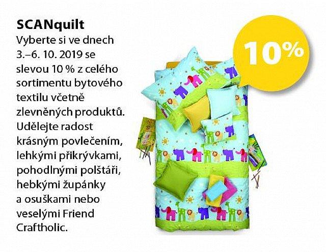 Obrázek kupónu - SCANquilt