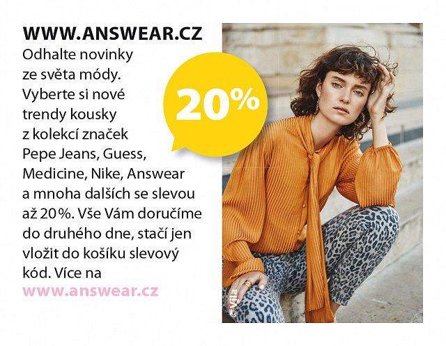 Obrázek kupónu - www.answear.cz