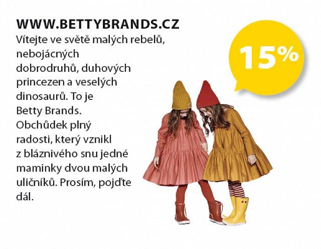 Obrázek kupónu - www.bettybrands.cz