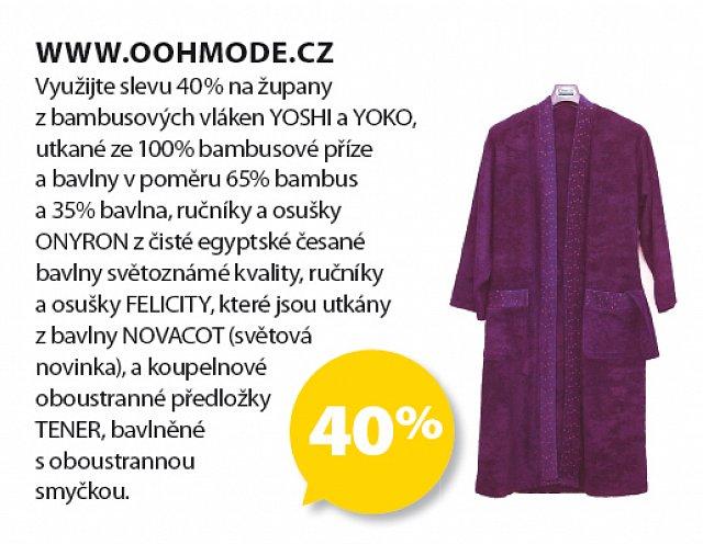 Obrázek kupónu - www.oohmode.cz