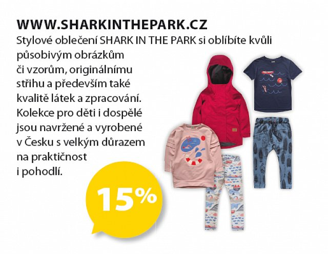 Obrázek kupónu - www.sharkinthepark.cz