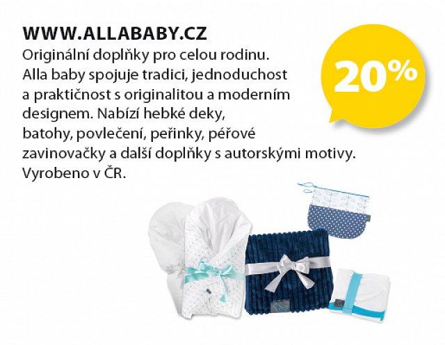 Obrázek kupónu - www.allababy.cz