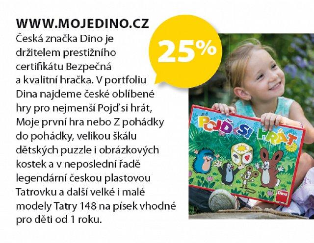 Obrázek kupónu - www.mojedino.cz