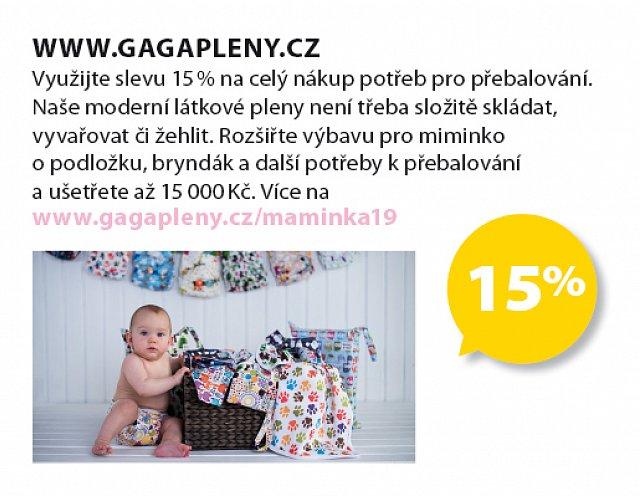 Obrázek kupónu - www.gagapleny.cz