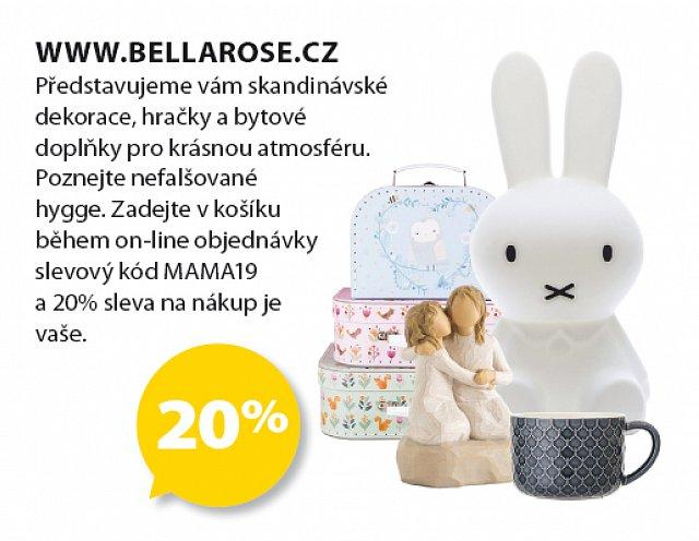 Obrázek kupónu - www.bellarose.cz